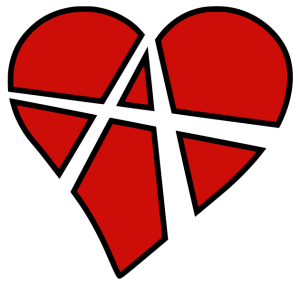 "The symbol for Relationship Anarchy (RA, sometimes known as ""Radical Relations"") was created by the Swedish radical art collective ""Interacting Arts"" in 2006 as a symbol for those who reject normative ideas of how relationships ""should"" be organized."